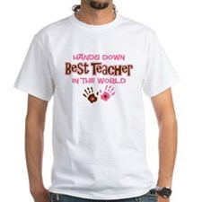 Hands Down Best Teacher Shirt