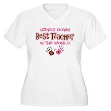Hands Down Best Teacher T-Shirt