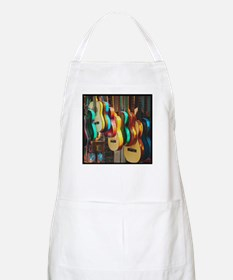 Shadows, Curves and Lines BBQ Apron