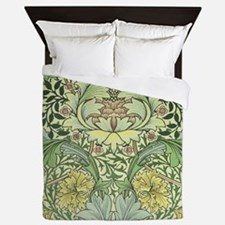 William Morris Floral Design Queen Duvet
