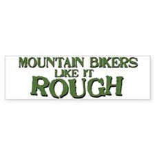 mountainbike.jpg Bumper Bumper Sticker