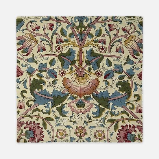 William Morris Floral Design Queen Duvet