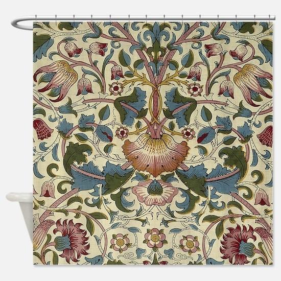 William Morris Floral Design Shower Curtain