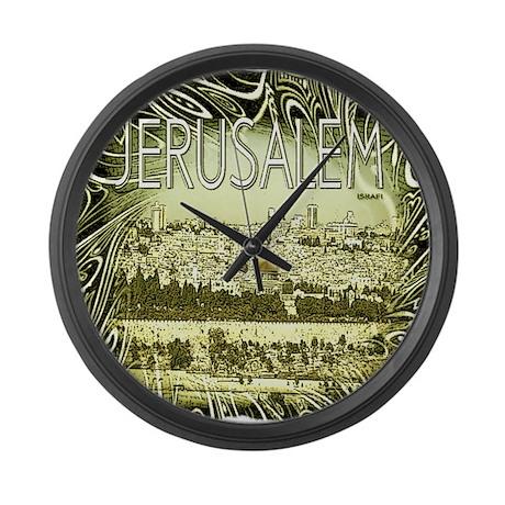 Jerusalem Large Wall Clock