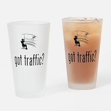 Air Traffic Control Drinking Glass