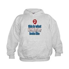 2 year old balloon designs Hoodie