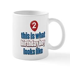 2 year old balloon designs Mug
