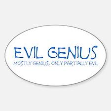 Evil Genius: Mostly Genius, O Oval Decal