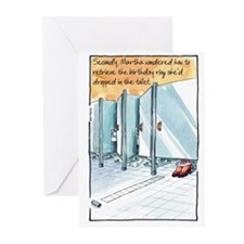 Eat the Cake First Greeting Cards (Pk of 10)