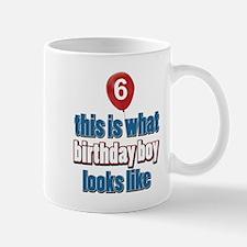 6 year old balloon designs Mug