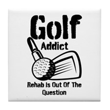 Golf Addict Rehab Is Out Of The Question Tile Coas