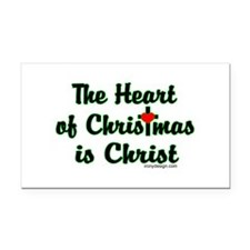 Christ in Christmas Rectangle Car Magnet