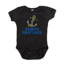 Daddys First Mate Baby Bodysuit