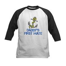 Daddys First Mate Baseball Jersey