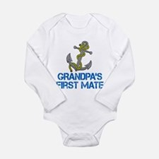 Grandpas First Mate Body Suit