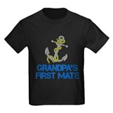 Grandpa first mate Kids T-shirts (Dark)