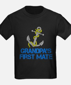 Grandpas First Mate T-Shirt
