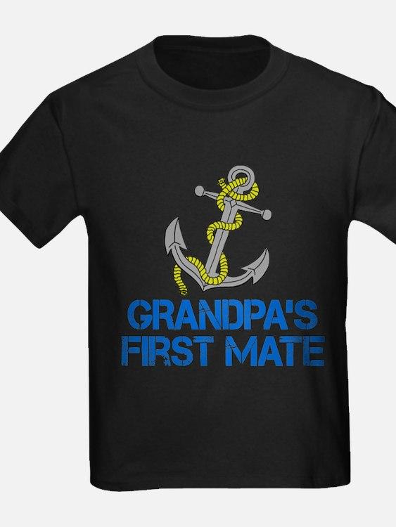 Grandpas First Mate T-Shirt