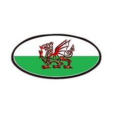 Welsh Dragon Patches