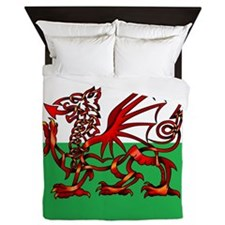 Welsh Dragon Queen Duvet
