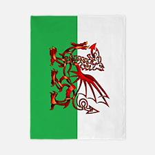 Welsh Dragon Twin Duvet