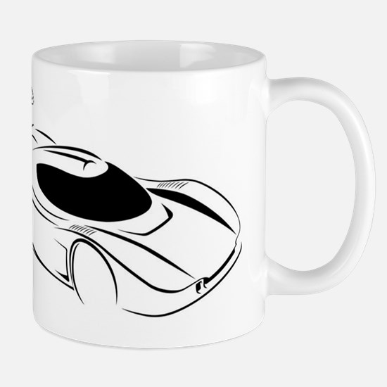 Superlite Coupe Outline Mug