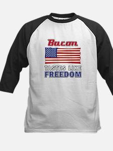 Bacon Tastes Like FREEDOM Baseball Jersey