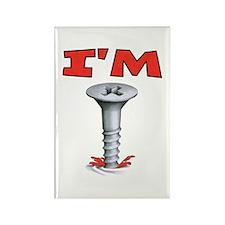 IM Screwed Screw Rectangle Magnet