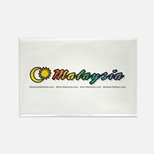 MalaysiaWebsite.com Rectangle Magnet