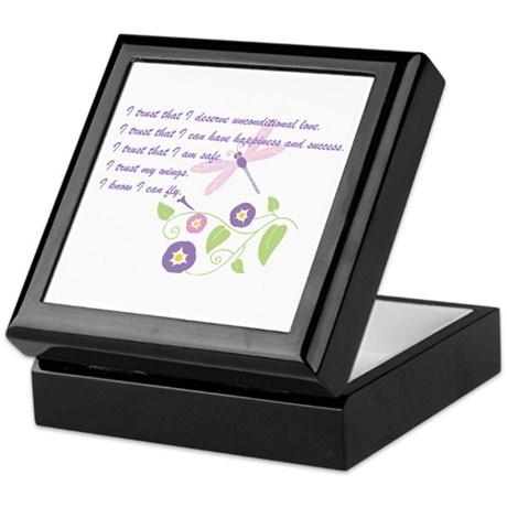 I Can Fly Keepsake Box