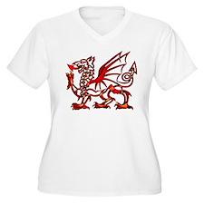 Welsh Dragon Goddess Proportioned T-Shirt
