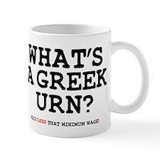 WHATS A GREEK URN Z Small Mug