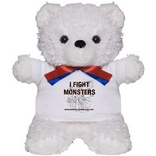 I Fight Monsters Teddy Bear