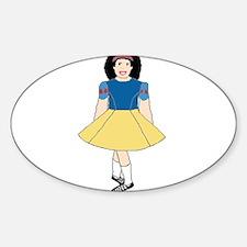 Snow White Dancer Decal