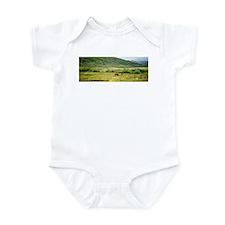 Cute Animal photography Infant Bodysuit