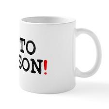 GO TO PERSON! Small Mug