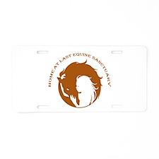 Home At Last Logo Aluminum License Plate