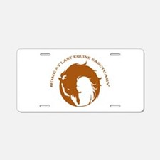 Home At Last Logo Aluminum License Plate