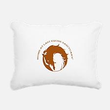 Home At Last Logo Rectangular Canvas Pillow