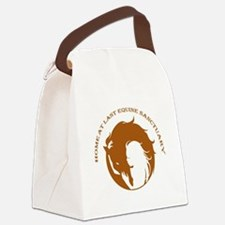 Home At Last Logo Canvas Lunch Bag