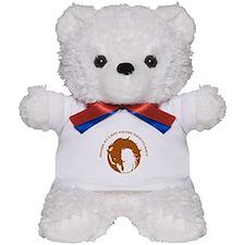 Home At Last Logo Teddy Bear