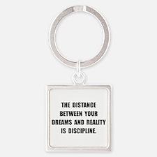 Discipline Quote Keychains