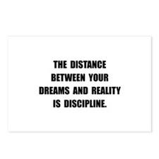 Discipline Quote Postcards (Package of 8)