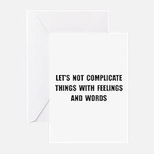 Feelings Words Greeting Cards (Pk of 20)