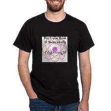 I'd know it T-Shirt