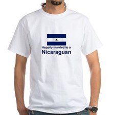 Happily Married To A Nicaraguan Shirt