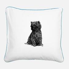 Cairn Terrier Square Canvas Pillow