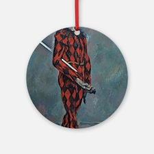 Paul Cezanne - Harlequin Ornament (Round)