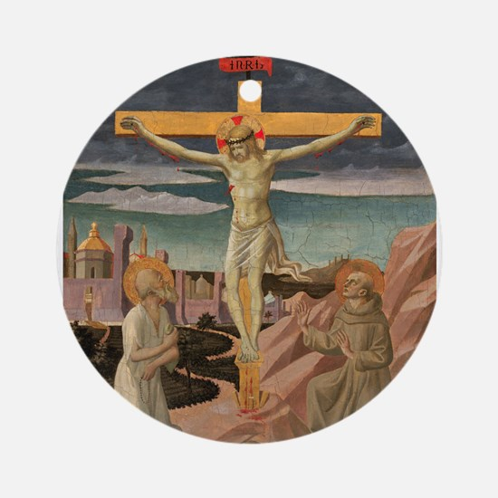 Pesellino - The Crucifixion with Saint Jerome and