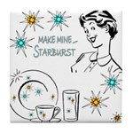 Franciscan Starburst Tile Coaster